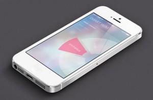 iOS 7 Smart washer app UI by Hyelim Choi