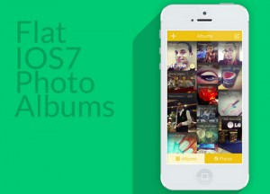 iOS 7 Photo Gallery Concept by AlHasan AlDasooqi