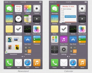iOS 7 Reimagined by Tristan Edwards