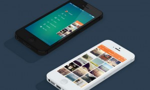 iOS 7 Instasave iPhone App by Chirag Dave