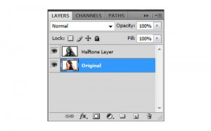 Halftone Dots and Linear Light Photoshop Tutorial