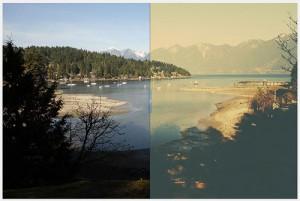 12 Film, Instagram and Prestaligia Photoshop Actions