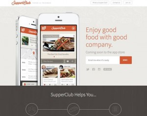 Supper Club App
