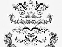 100+ Free Vintage Ornament & Floral Vectors
