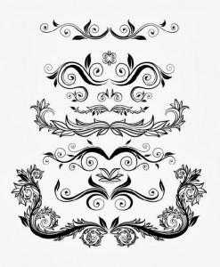 Floral Retro Style Pattern Design