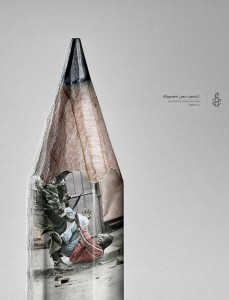 Amnesty International: Pencil