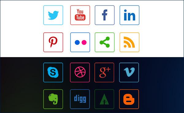 social-media-line-icons-both