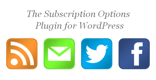 Step 6. User the Subscription Options plugin.