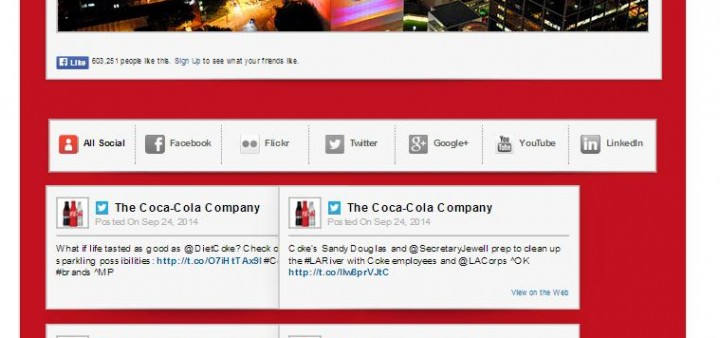 Coca-Cola provides a great example of non-information.