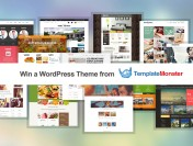 Win a Premium WordPress Theme from TemplateMonster!