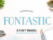 The Fontastic Font Bundle