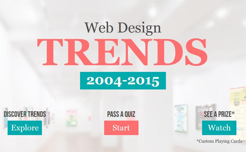 Know Web Design Trends Web Design Fact