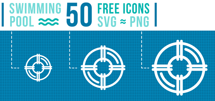 50 FREE Swimming Pool Icons